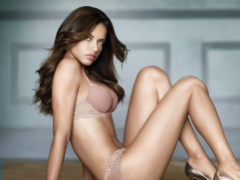 The hot and uber sexy Adriana Lima in various lovely lingerie
