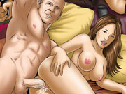 John McClane plugs his hard naked weapon up Asian hottie Mais juicy cooch!