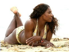 Bikini pics of bootyliciously sexy tennis star Serena Williams