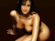 Great fake nude photos of hit TV series Friends star Courtney Cox