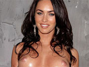 Up and coming superstar Megan Fox exposes her hot love box