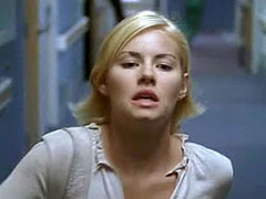 Pretty celeb Elisha Cuthbert in her scene wears a hot outfit