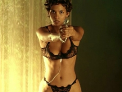 Screencaps from the movie Swordfish and pics of sexy Halle Berry